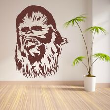 Chewbaca Star Kinder Wars Wandtattoo Wallpaper Wand Schmuck 78 x 57 cm Wandbild