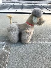 Vintage Steiff Stuffed Animal Poodle Dog With Moveable Parts No Tag 4""