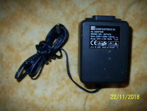 Leader Electronics - Transformateur 12V 1,5A A571215 / DC Power