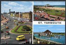 C1970's Multiviews of Gt. Yarmouth Marine Parade, Pier, Boating Lake.