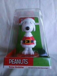 Christmas Solar  fun- Snoopy - santa