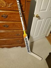 Warrior Ritual V1 Sr+ Composite Goalie Stick - Intermediate - Never Used On Ice.