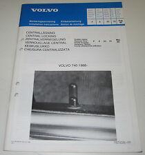 Einbauanleitung Volvo 740 Einbau Zentralverriegelung ab Baujahr 1988!