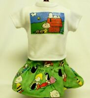 Charlie Brown Themed Outfit For 18 Inch Doll