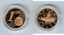 Grèce 1 Cent 2012 PP Seulement 2.500 Pièce