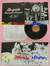 LP 12'' FERNANDO MARUCCI La gente POST PROG ITALIANO M.Trevisi 1975 cd mc dvd
