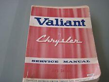 Chrysler Valiant AP5 Series Factory Service Manual
