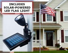 20ft Fiberglass Flagpole ( Ultimate Residential Set ) w 4'x6' Polyester US Flag