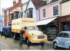 Bedford Dinky Meccano Truck Pallet Jekta Van motoring art blank card like 930