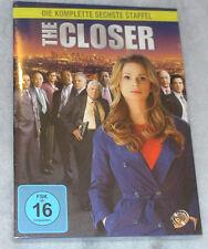 The Closer - Complete Staffel Serie 6 Six - DVD Box-Set - Neu Originalverpackt -