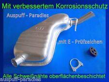 Endschalldämpfer Auspuff Volvo V70 II 2.4 (140 & 170PS) Kombi (P80_) + Kit