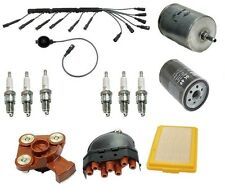 For BMW E30 325e 2.7 84-85 Air Oil Fuel Filters Wire Set Spark Plugs Tune Up Kit