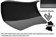 GREY & BLACK CUSTOM FITS KAWASAKI NINJA ZX6R 05-06 600 FRONT SEAT COVER