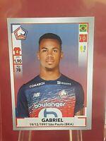 Gabriel Arsenal Lille France Foot 2020 Panini Rookie Sticker