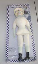 "Daisy Kingdom Sarah Jane Victorian Doll Porcelain Shoulder Head Fabric Body 15"""