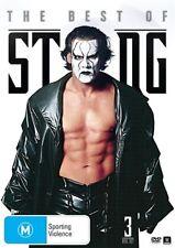 WWE Presents Sting (DVD, 2014, 3-Disc Set) - R4