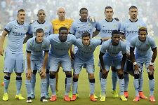 MANCHESTER CITY FOOTBALL TEAM PHOTO>2014-15 SEASON