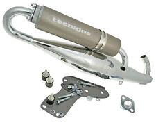 Gilera Runner 125 FX SP DD LC  Performance Exhaust Tecnigas RSII Chrome