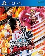 One piece burning sang PS4 * neuf scellé pal *