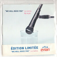 CD SINGLE lmt edt Forever Young  ‎We Will Rock You (Le Remix) Queen evian