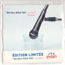 CD SINGLE lmt edt Forever Young  We Will Rock You (Le Remix) Queen evian