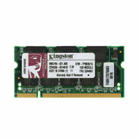 Per Kingston 1GB DDR1 333Mhz PC2700 200Pin Low Density SO DIMM SDRAM RAM RL1IT