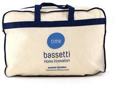 Piumone Bassetti Time invernale Singolo 15 Piumino e 85 piumette D'oca 155x...