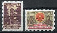 28312) RUSSIA 1959 MNH** Nuovi** DDR  2v Scott#2242/43