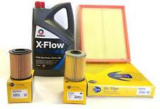 Vauxhall Astra G / H 1.7DTI 1.7CDTI  Service kit and Air Fuel Oil Filters 5L Oil