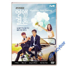 """BUY 5 GET 1 FREE""  Marriage Without Dating Korean Drama (4 DVDs) GOOD_ENGLISH"