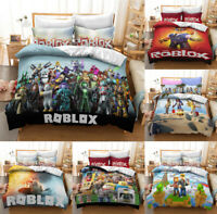 ROBLOX Design Bedding Set 3PCS Of Duvet Cover Pillowcases Twin Full Queen King