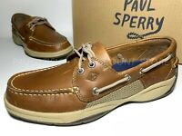 SPERRY Men's Intrepid Eye Boat Shoes ~ Tan ~ Various Sizes ! !