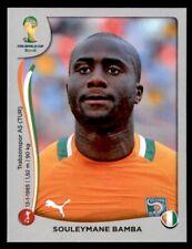 Panini World Cup 2014 (Swiss Platinum Version) Souleymane Bamba Ivory Coast #227