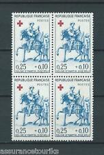 CROIX ROUGE - 1960 YT 1279 bloc de 4 - TIMBRES NEUFS** LUXE - COTE 16,00 €