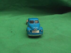 VINTAGE LEGO BLUE LORRY HO SCALE 1960'S - SEEMS INCOMPLETE