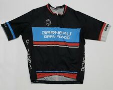 Garneau Gran Fondo Full Zip Cycling Jersey Shirt Men L Jersey by Louis Garneau