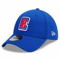 Los Angeles Clippers New Era NBA Team 39THIRTY Flex Fit Curve Hat - Blue