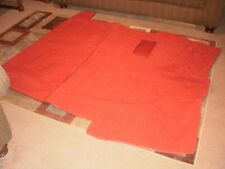 1955-58 Chevy PU Reg Cab Low Tunnell Bright Red Carpet By Acc Carpet Bright Red