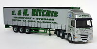 Corgi 1/50 Scale CC13906 Foden Alpha Curtainside Ritchie Transport Diecast Truck