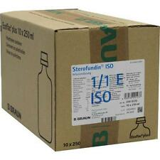 STEROFUNDIN ISO Ecoflac Plus Infusionslösung 10X250ml PZN 1078949