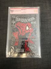 Spiderman 1 cBcs 9.4 Todd McFarline Signed And Red Stamp