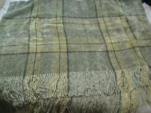 Churchill Weavers Throw Blanket Long Fringe