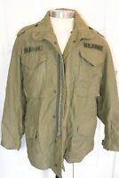 OG-107 Vietnam 1970 Cold Weather Field Coat M-65 US Army Named Patches Sm Rambo