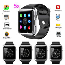 Wholesale A1 Smart Bluetooth Watch Phone for Sony Android iPhone Samsung LG 5pcs
