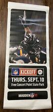 Pittsburgh Steelers Vinyl Banner - NFL Kickoff
