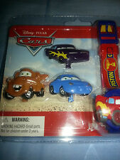 Disney Parks Kids Pixar Mix & Match Car faces  Digital Watch New Sealed