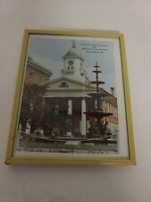 Vintage Picture/Calendar 1969 The Franklin County Courthouse Square Fountain