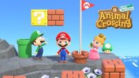 Super Mario Update - All Items Animal Crossing:New Horizons + 3 Pipes