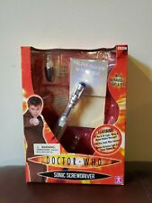 Doctor Who SONIC SCREWDRIVER with UV Light + Pen Character Options Cosplay
