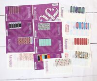 142 Full And Partial JAMBERRY sheets Vintage Retired rare Samples Nail Wraps